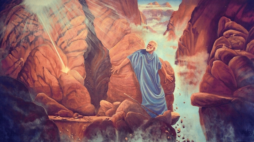 Moses Receiving the Ten Commandments