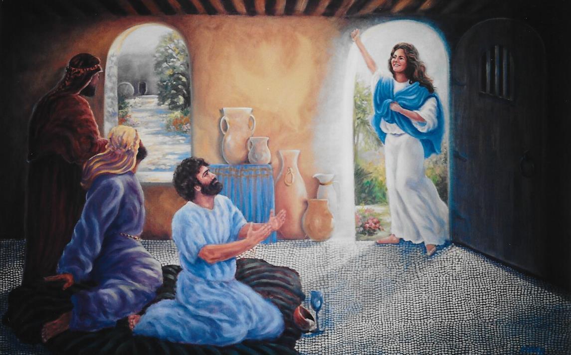 Mary Preaches the Gospel